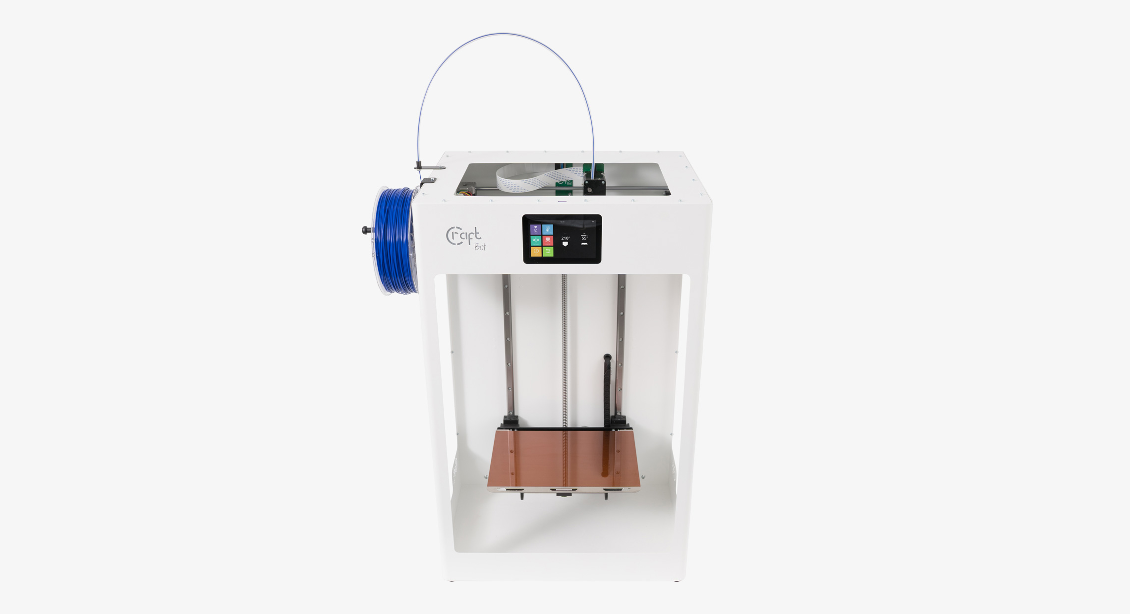 3D printing, 3D printer, Craftbot Flow XL, Large scale, Additive manufacturing, Printer bed, Compact workhorse, FDM printer, High-technology features